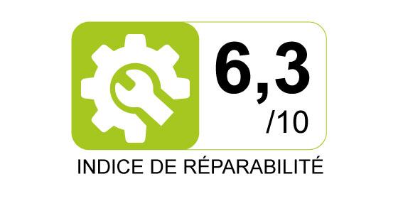 Indice de réparabilité - 6.3