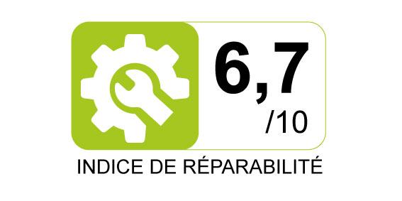 Indice de réparabilité - 6.7