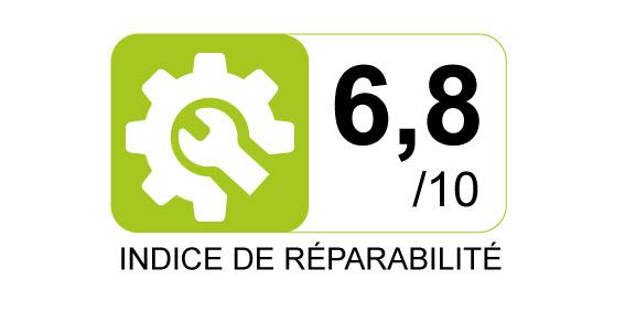 Indice de réparabilité - 6.8