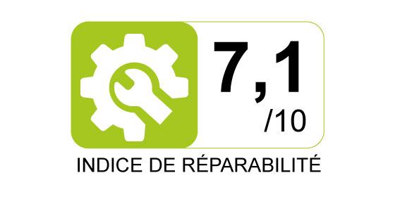 Indice de réparabilité - 7.1